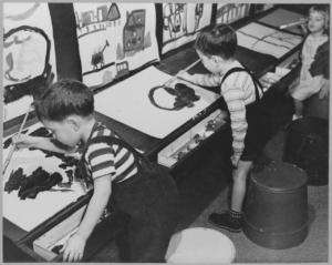 The Children's Art Carnival 1942. Photo via MoMA.org.