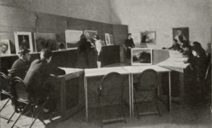 The Young People's Gallery at MoMA was one of D'Amico's earliest contributions. Photo via the MoMA Archives.
