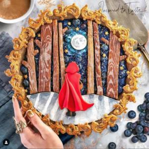 Little Red Riding Hood. Via Instagram @inspiredtotaste.