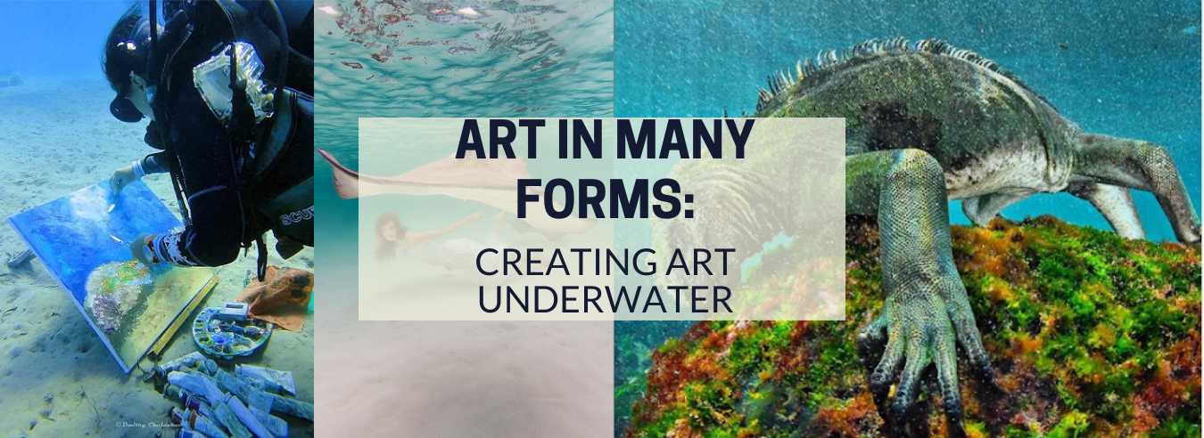 Creating Art Underwater