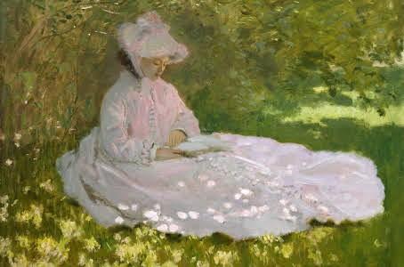 Springtime. Claude Monet.