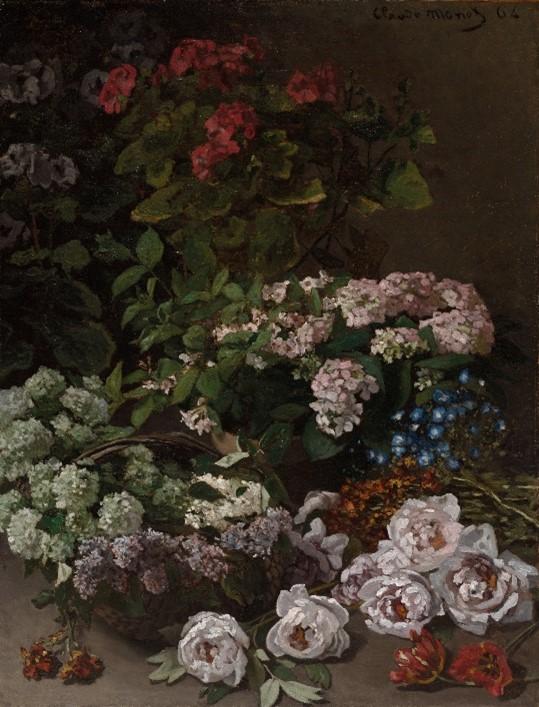 Spring Flowers. Claude Monet.
