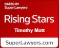 Tim Mott Rising Stars Badge