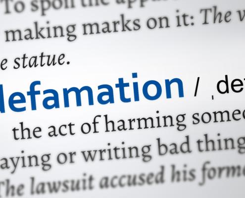 Defamation