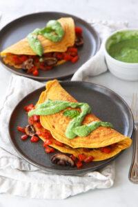 Vegan Omelet Recipe
