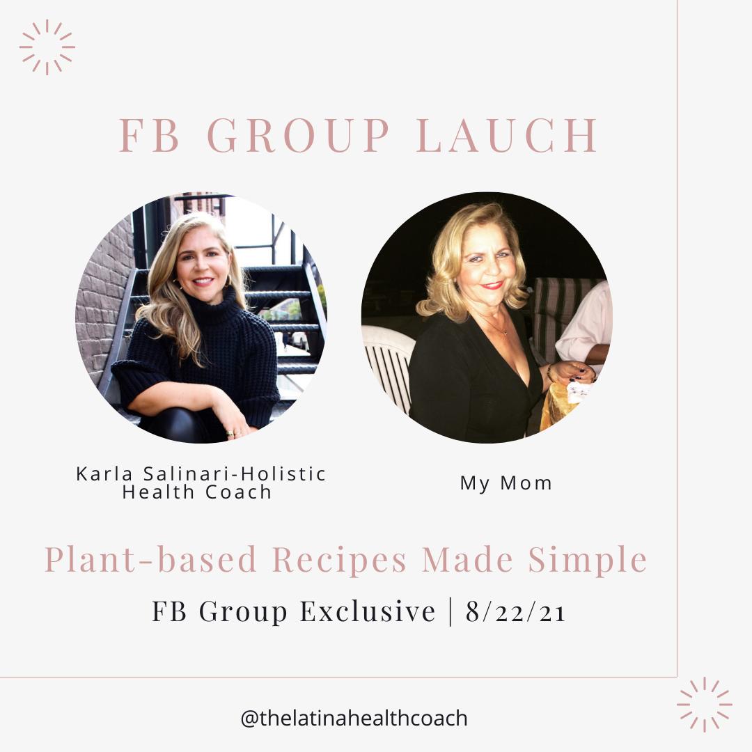 The Latina Health Coach Facebook Group