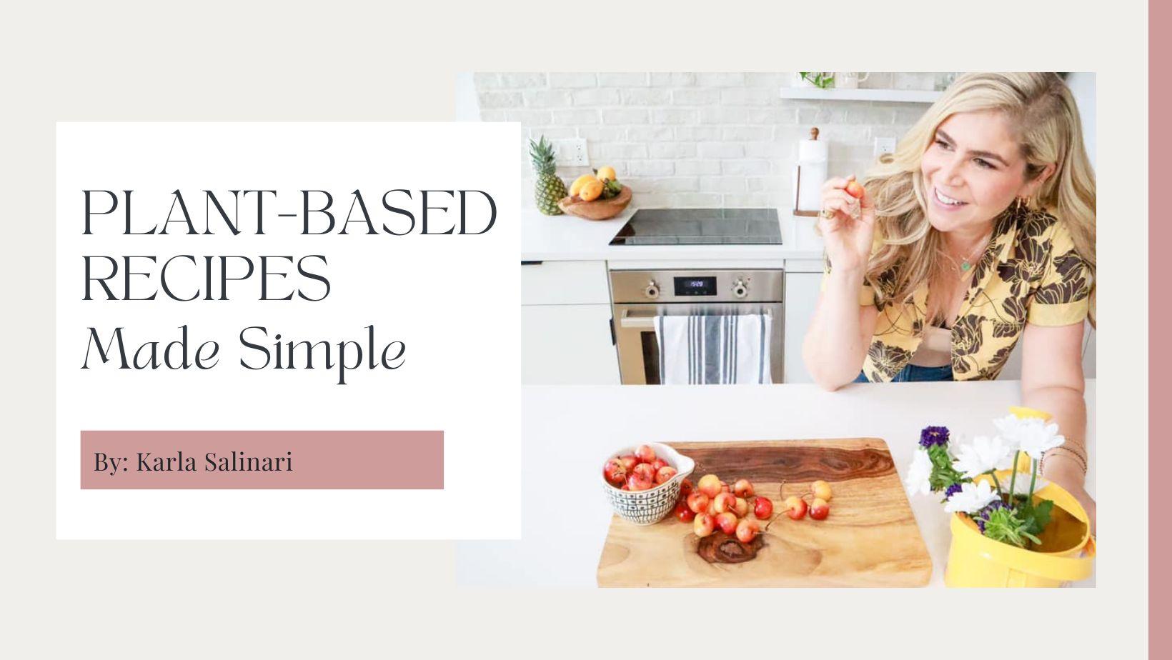 Plant Based Recipes FB Group