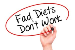 3 Reasons Why Fad Diets Fail (+ what really works)