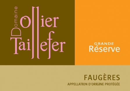 Domaine Ollier-Taillefer label