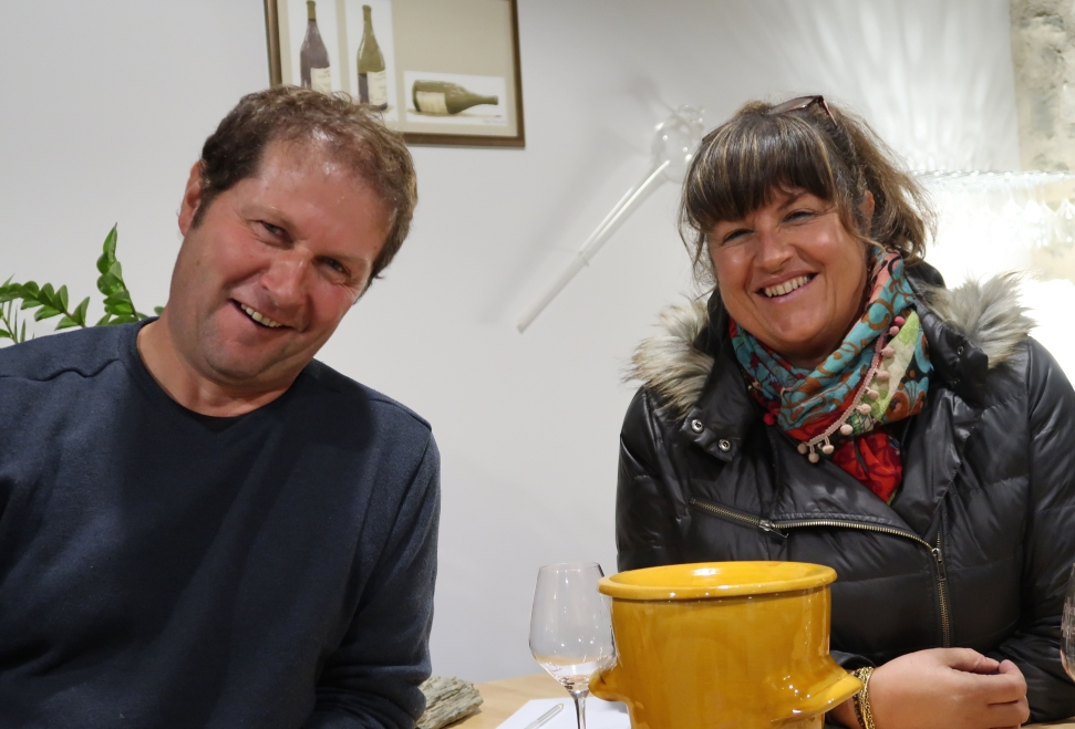 Luc and Françoise of Domaine Ollier-Taillefer