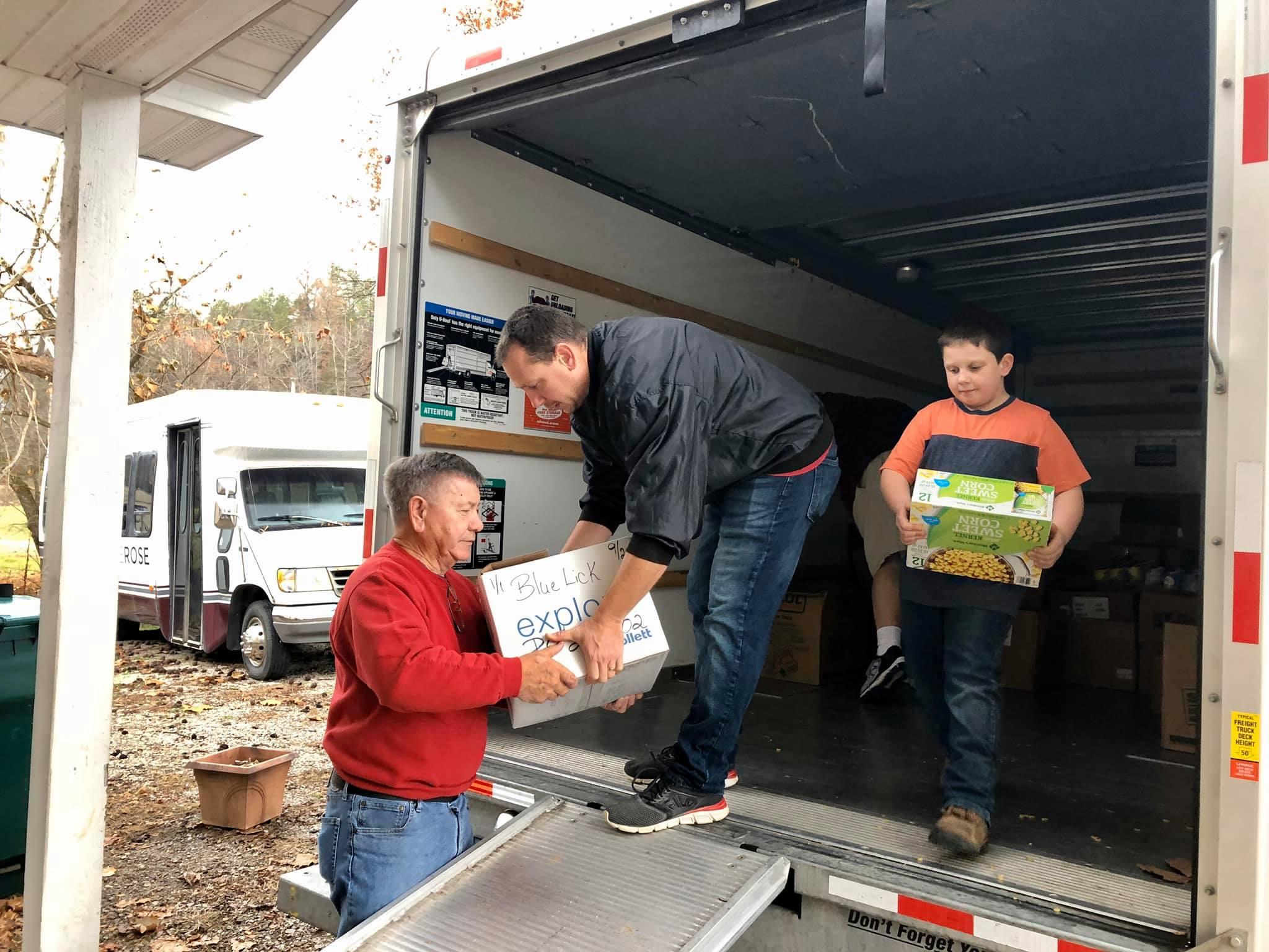 Cristical Food Supplies Reach Eastern Kentucky
