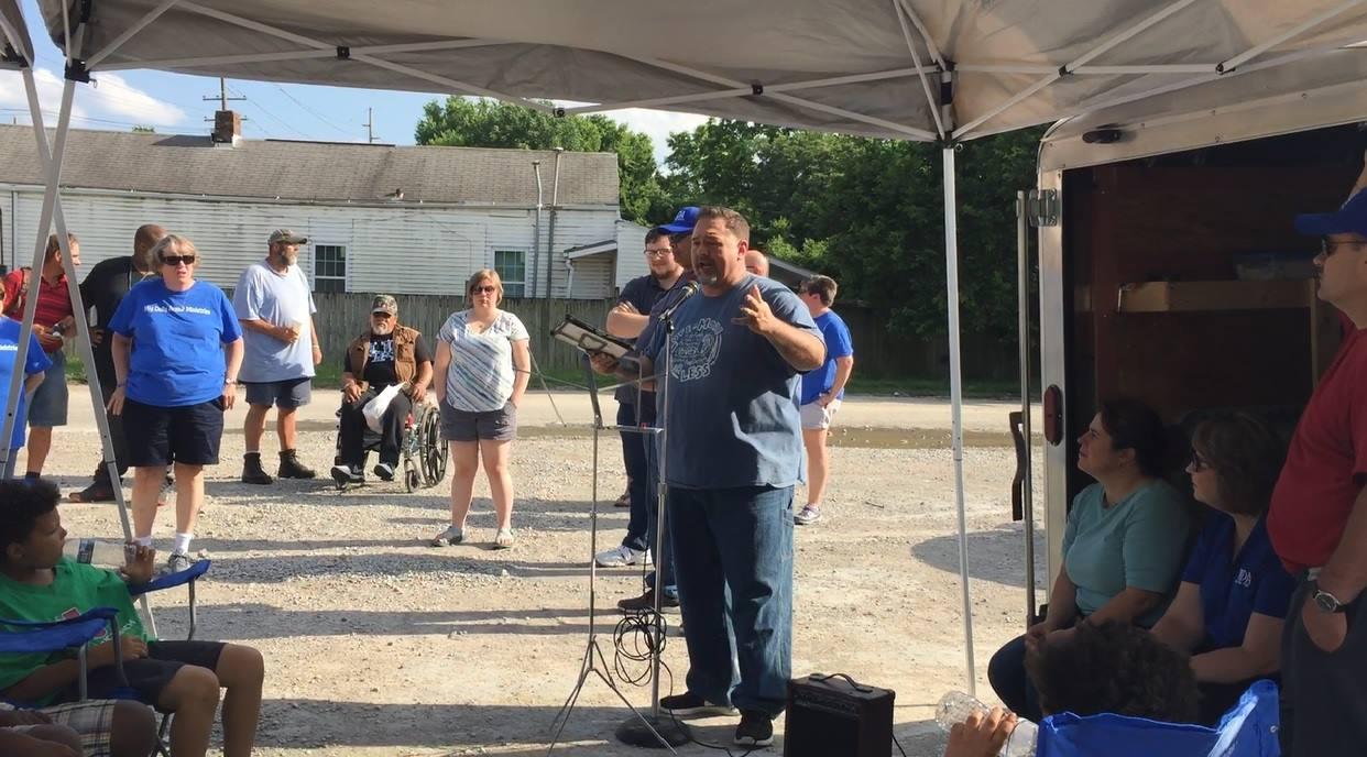 "Street Church ""Jonny's Wagon Brings The Gospel To Our Homeless"""