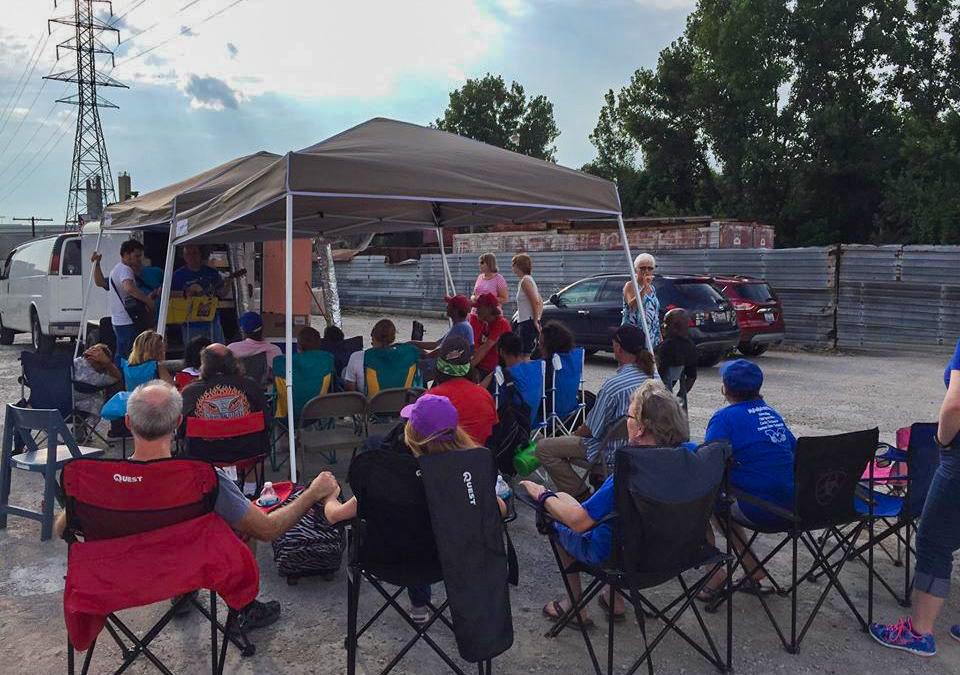 """Street Church"" Jonny's Wagon Bringing The Gospel To Our Homeless"