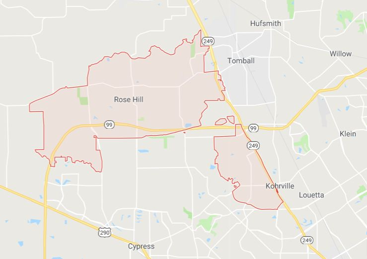 Tomball house cleaning service area