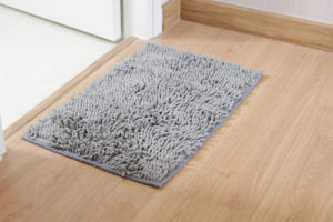 How often should bath mats be washed