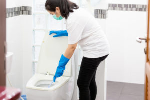 What happens if you don't clean your bathroom