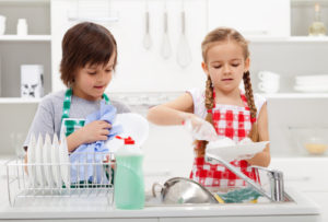Young Girls Home Cleaning in Cypress