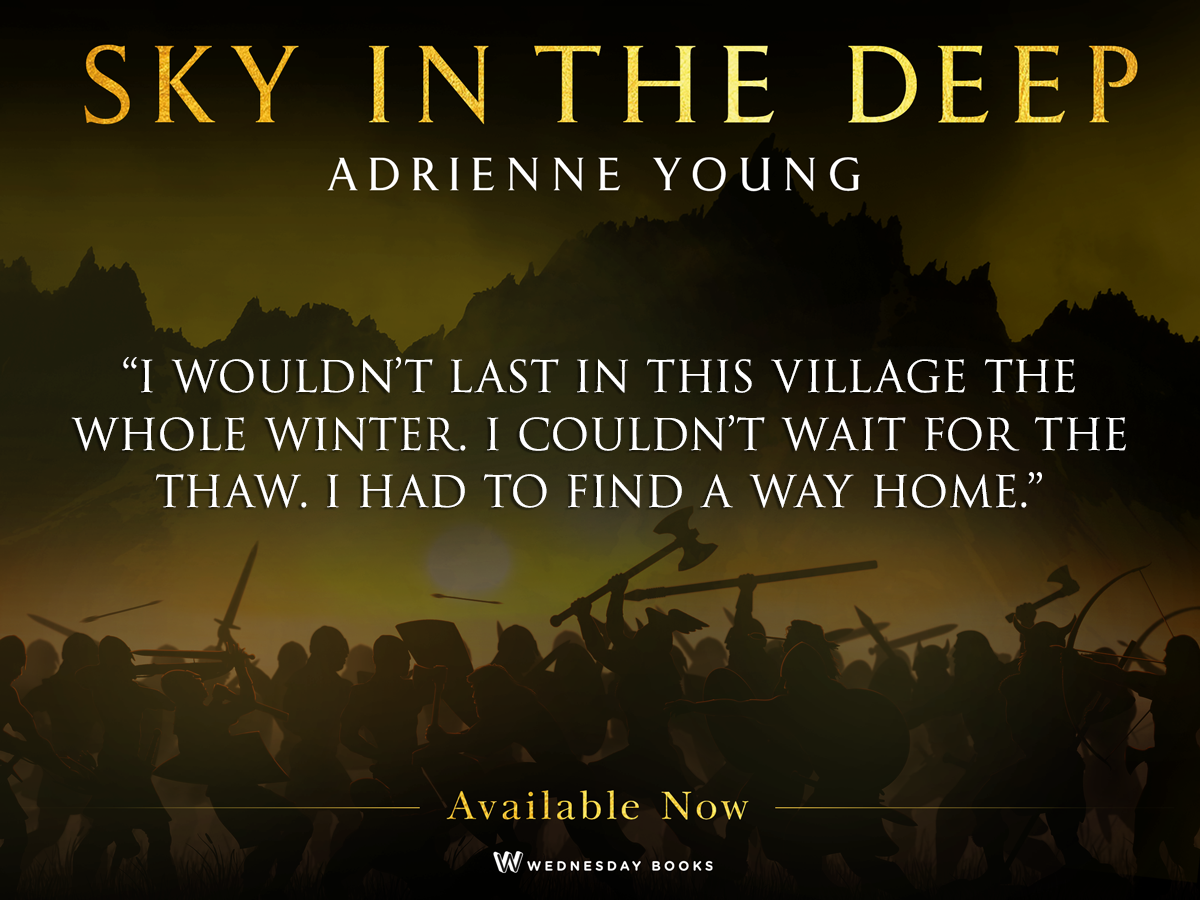 Q&A with Adrienne Young | Author of Sky in the Deep