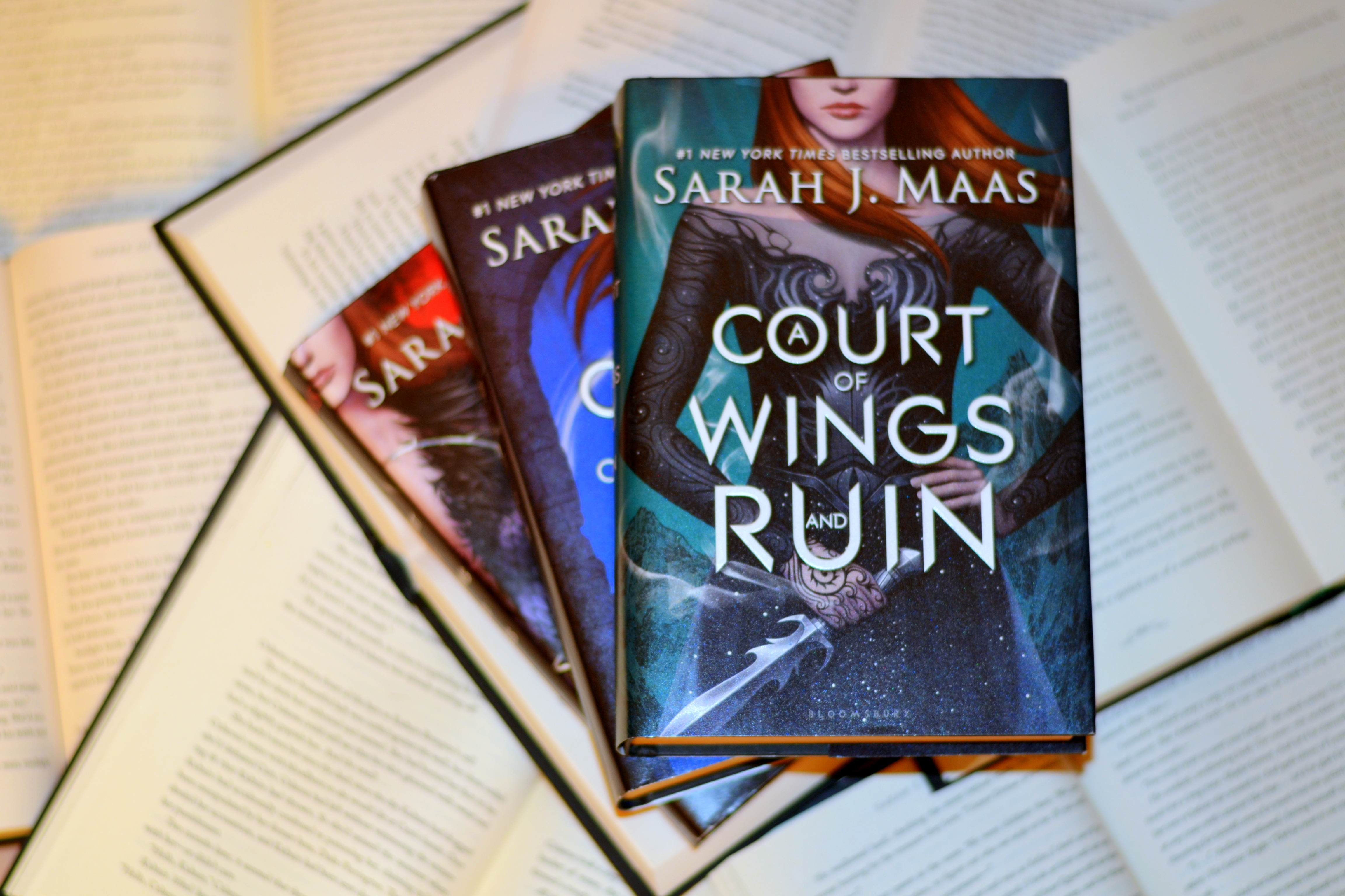 ACOTAR Themed Giveaway – Featuring a Hardcover Copy of ACOFAS
