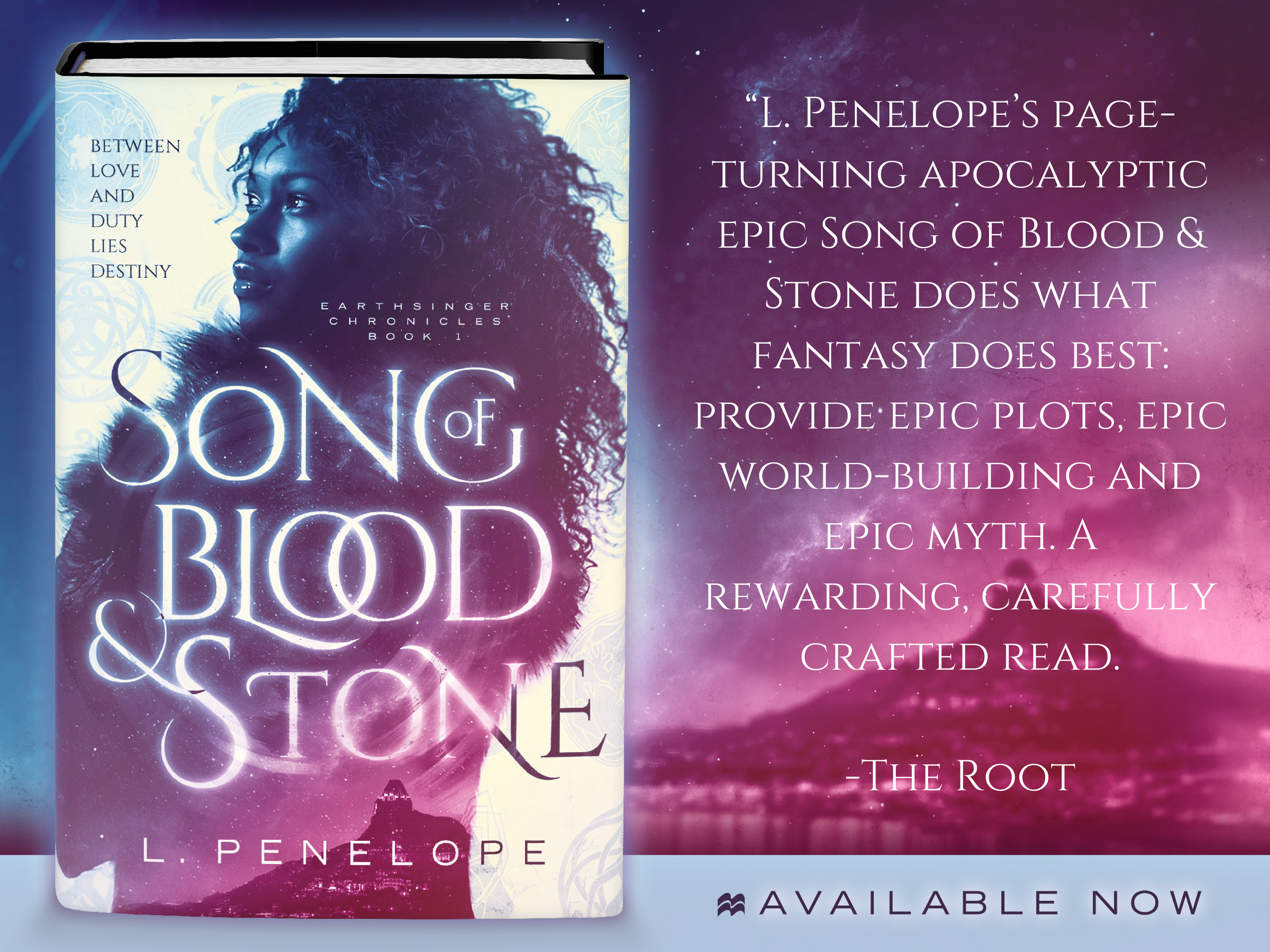 Q&A with L. Penelope – Author of Song of Blood & Stone