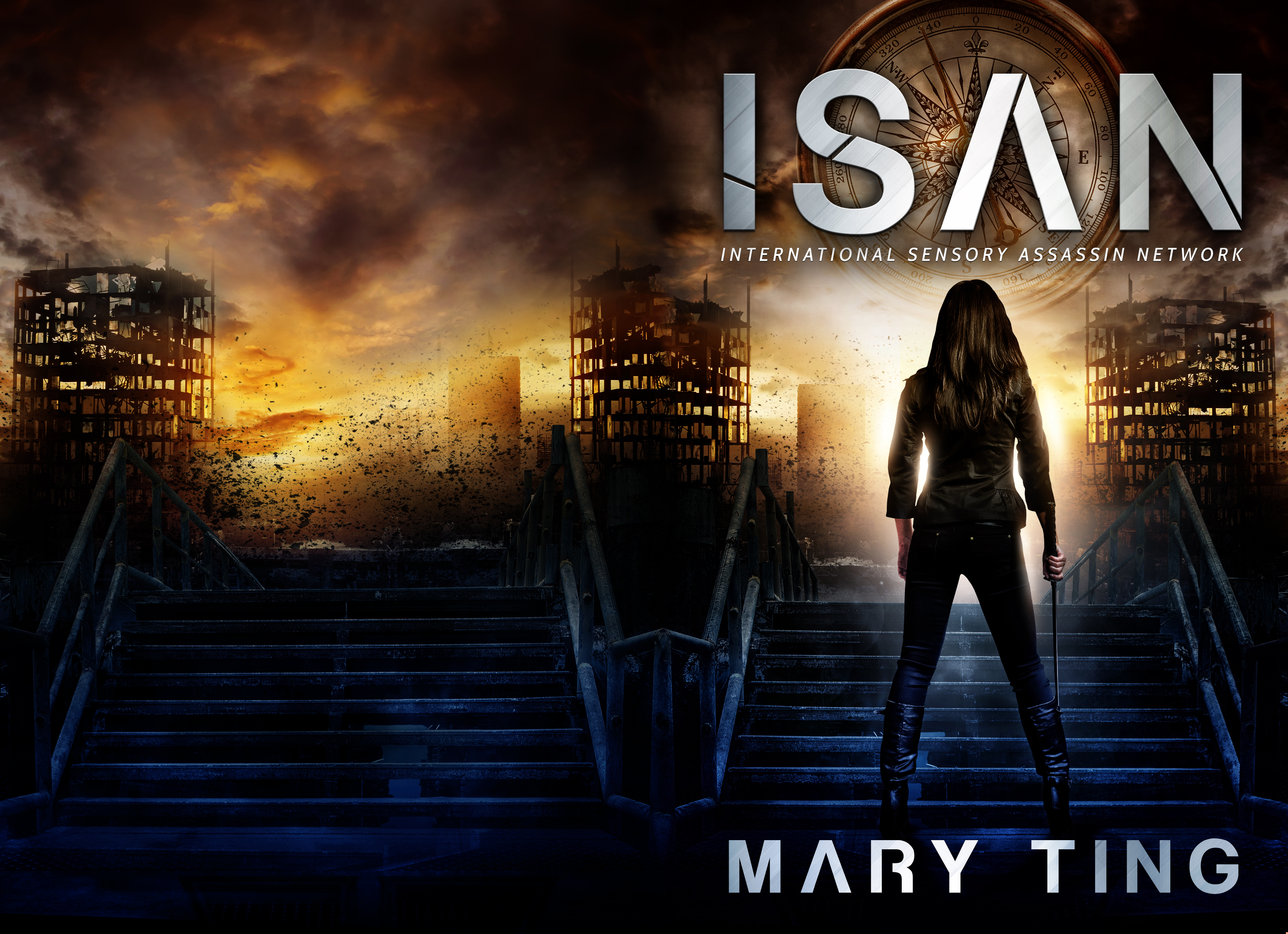 ISAN – Dystopia, Rebels, Assassins Oh My! | Blog Tour