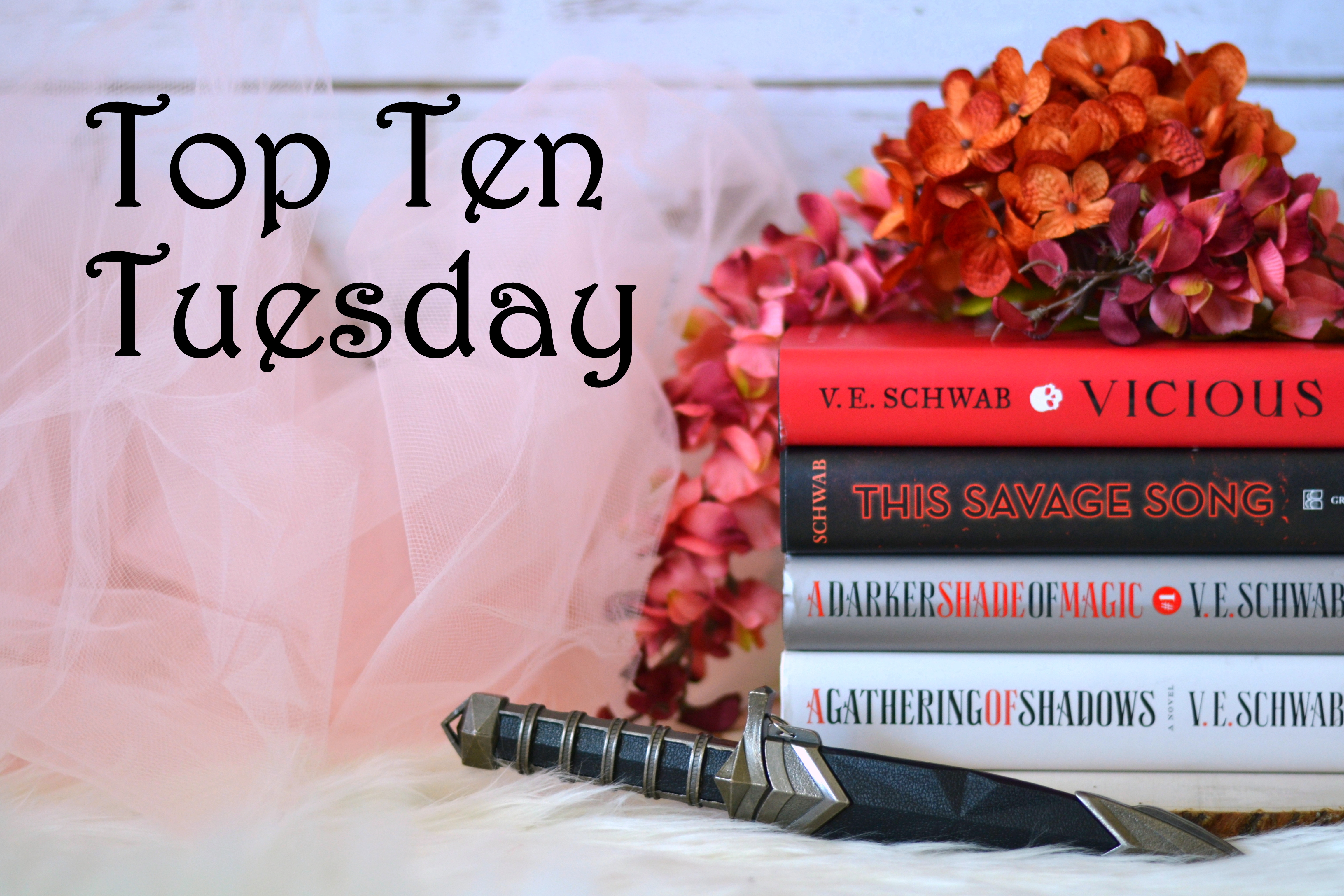 Top Ten Tuesday: Fall Fantasy Releases I'm Dying to Get My Hands On