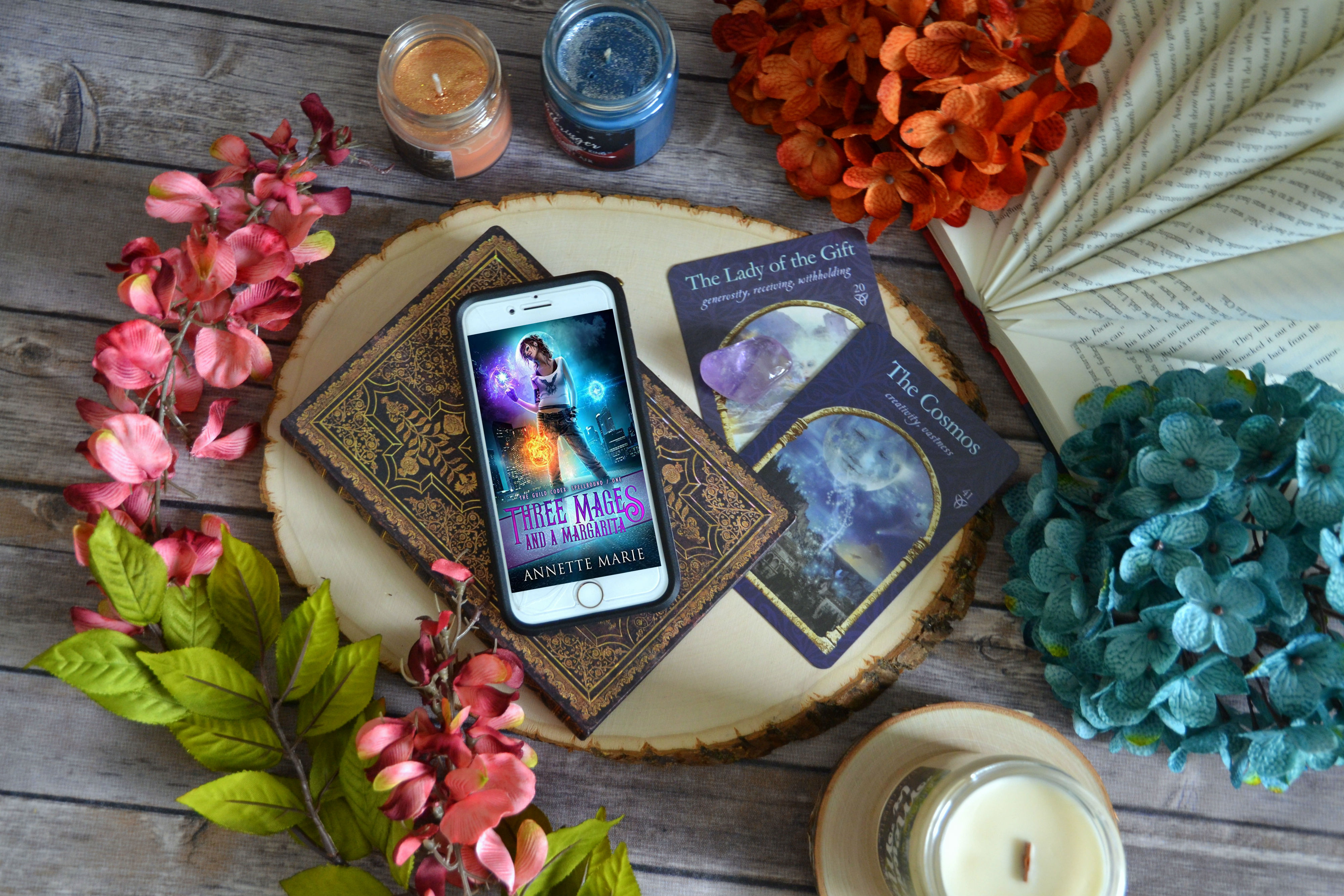 Three Mages and a Margarita by Annette Marie   ARC Review