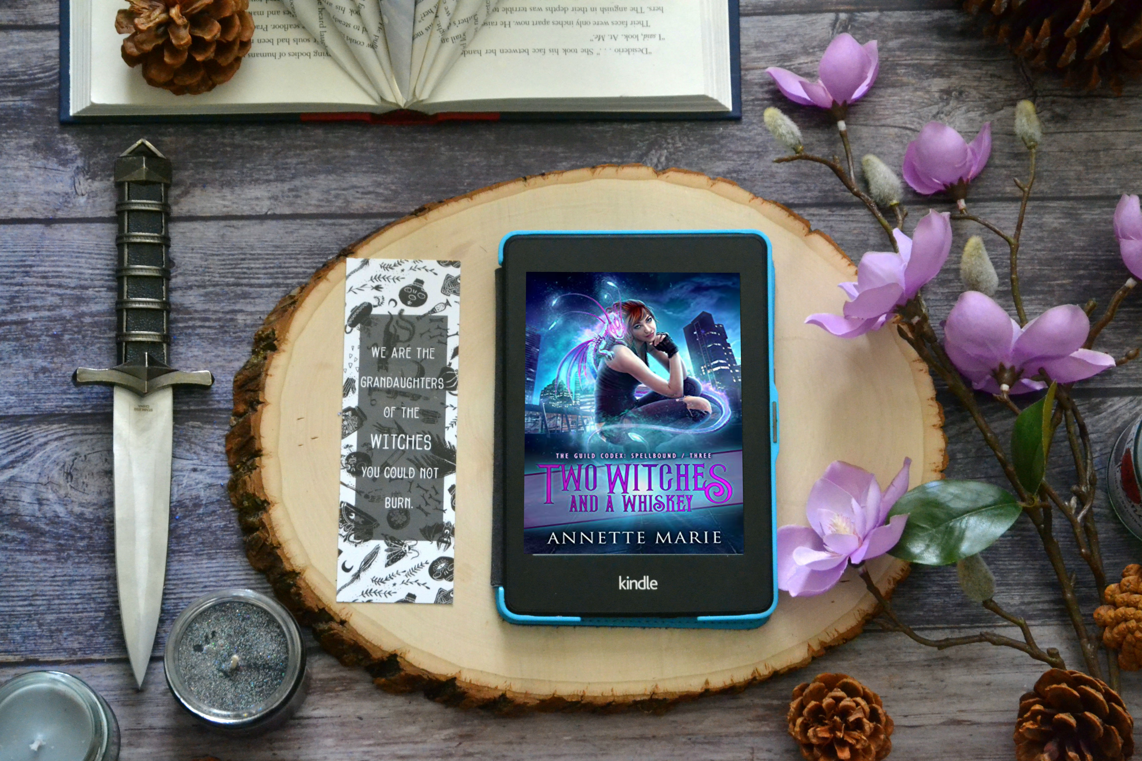 Two Witches and a Whiskey  by Annette Marie   ARC Review