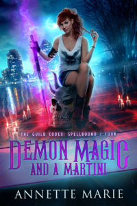 Demon Magic and a Martini by Annette Marie  ARC Review
