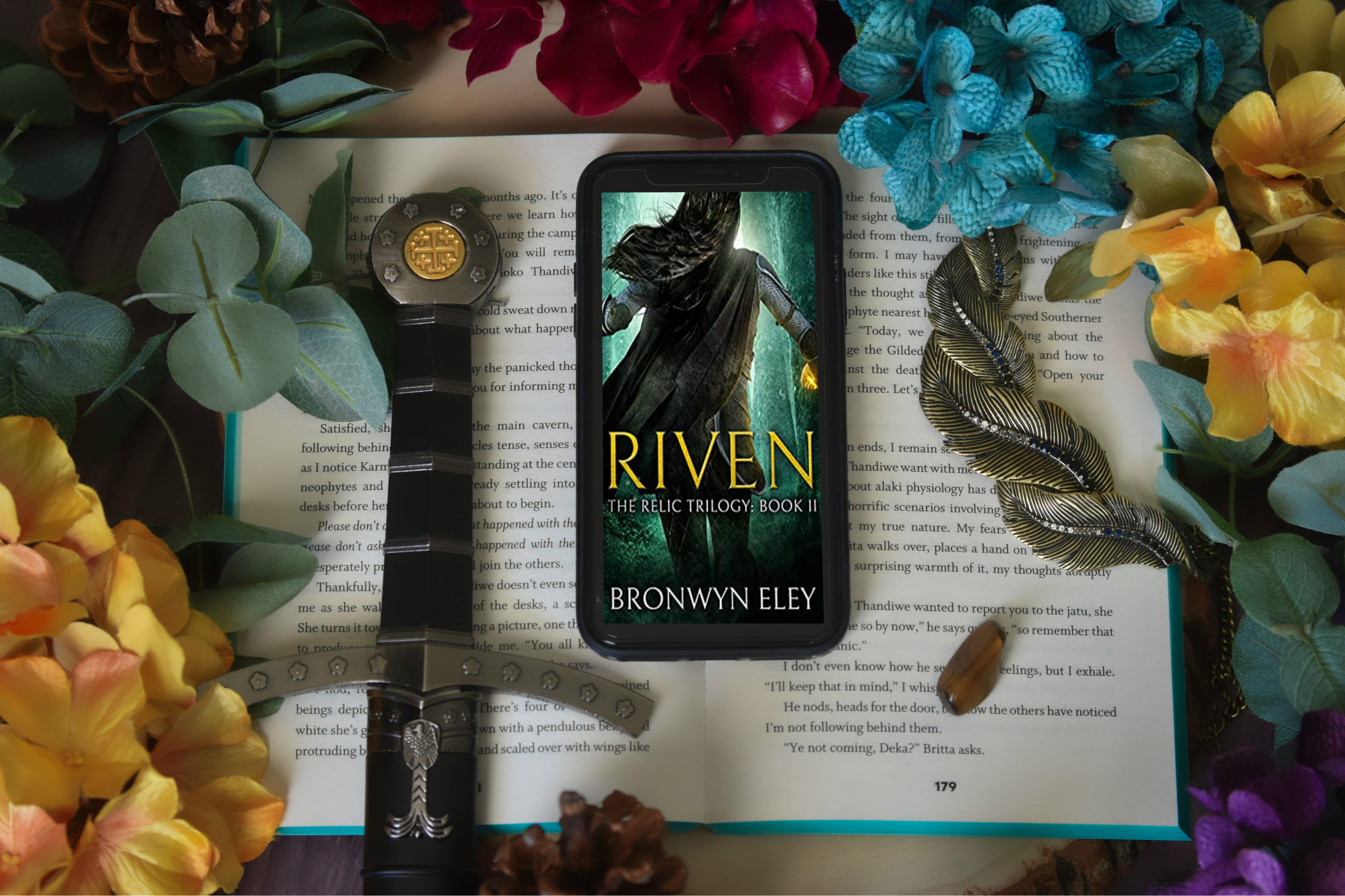 RIVEN by Bronwyn Eley   ARC Review of Book Two in The Relic Trilogy