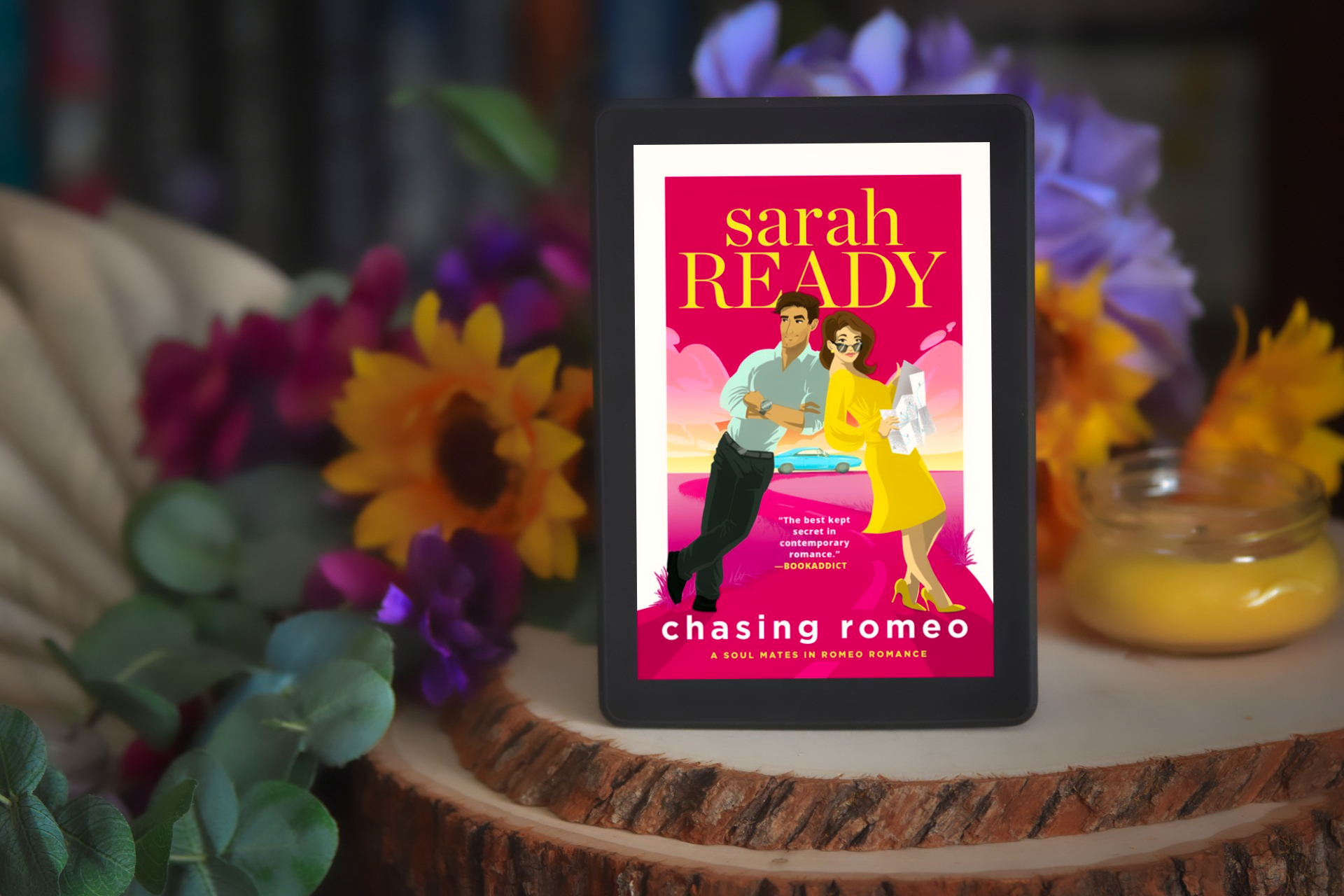 Chasing Romeo by Sarah Ready   Over-the-Top Rom-Com Review
