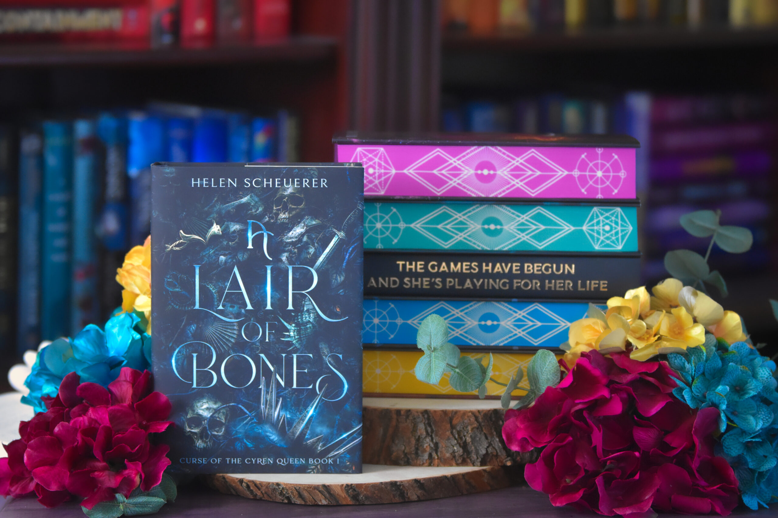 Calling All Sirens | A Lair of Bones by Helen Scheuerer ARC Review