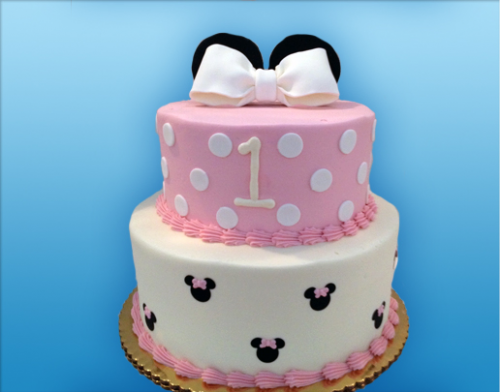 48 minnie mouse tier