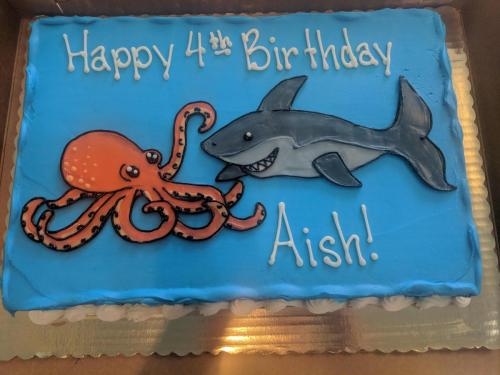 58 Shark and Octopus