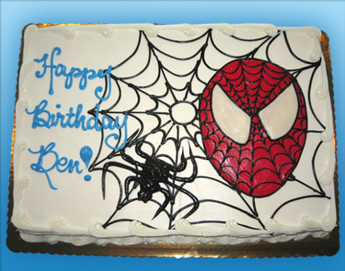 75 Spiderman Face and Web