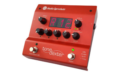 ToneDexter Preamp for Acoustic Instruments Restores the Missing Body Sound to a Piezo Pickup