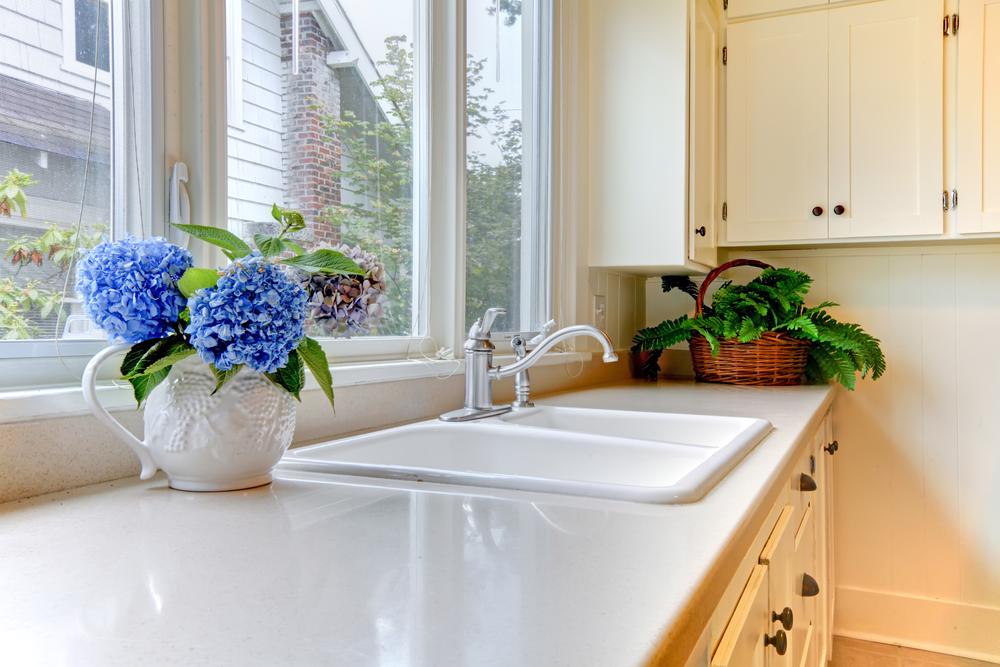 Kitchen Cabinet Water Damage