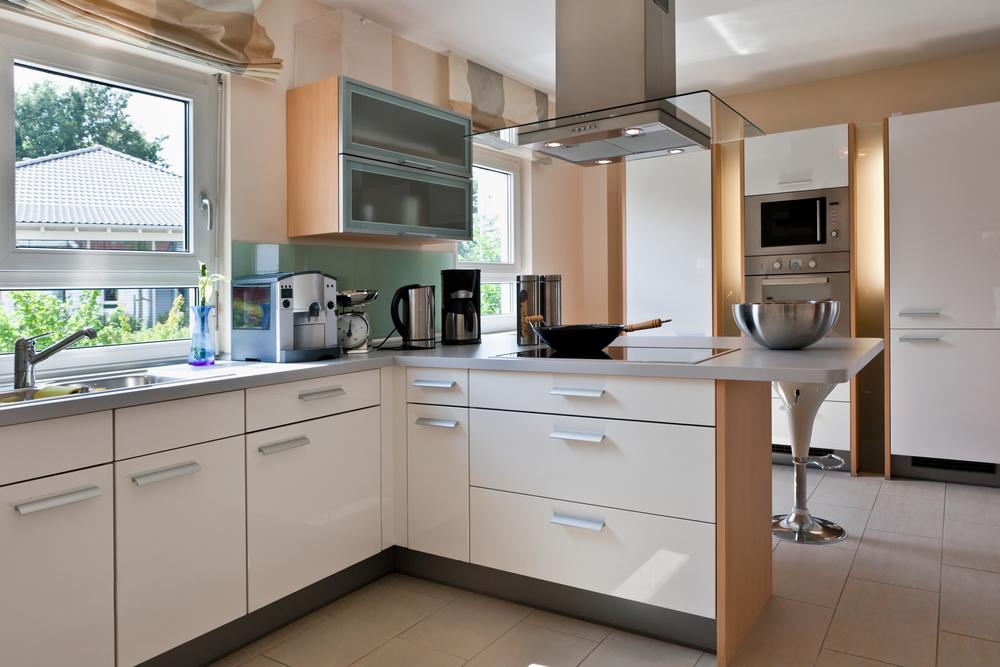 corner kitchen space