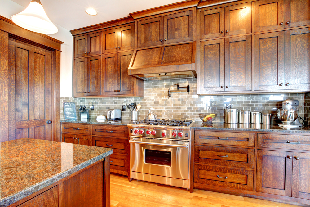 utilizing custom cabinets throughout home