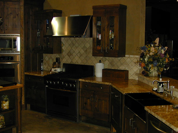 oven, stove, and sink