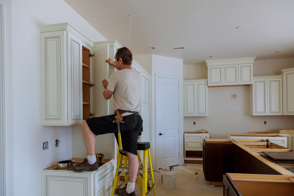when replacing kitchen cabinets