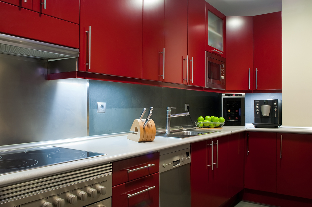 caring painted kitchen cabinets