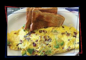 Omelet & Toast