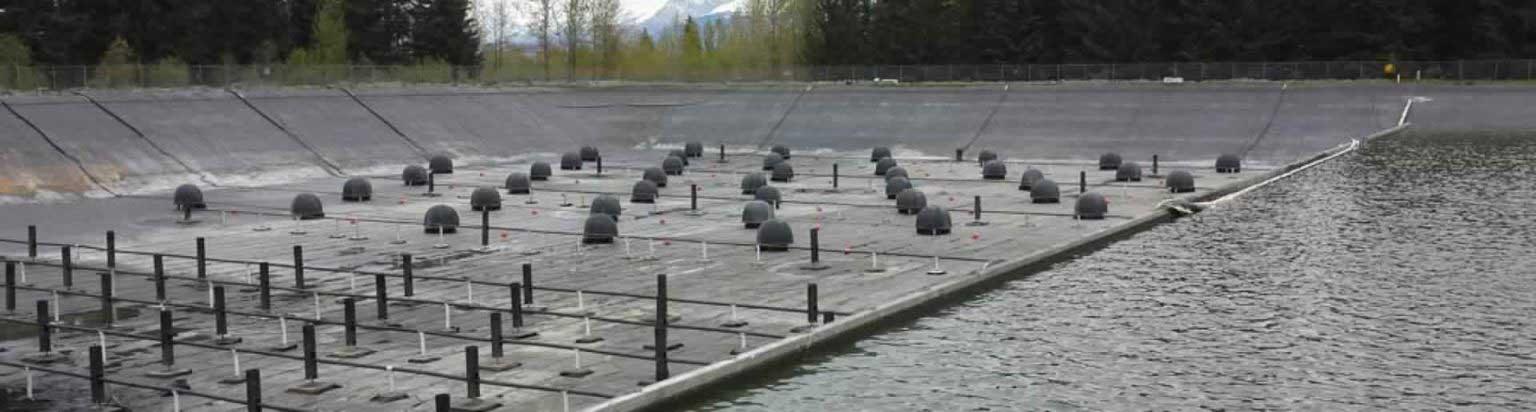 Bio-Domes Installation at Seward, AK