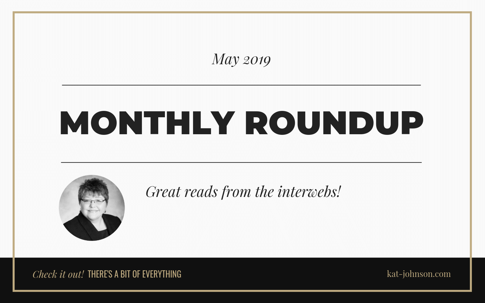 May Link Roundup