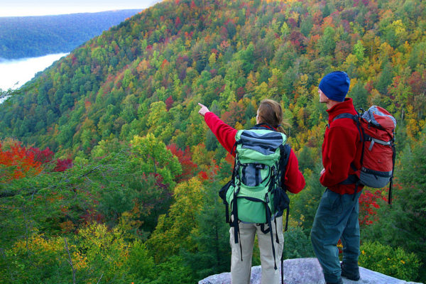 New River Gorge Cabins hiking