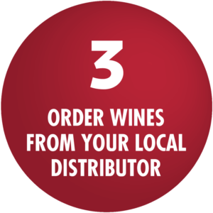 Order Wines From Your Local Distributor