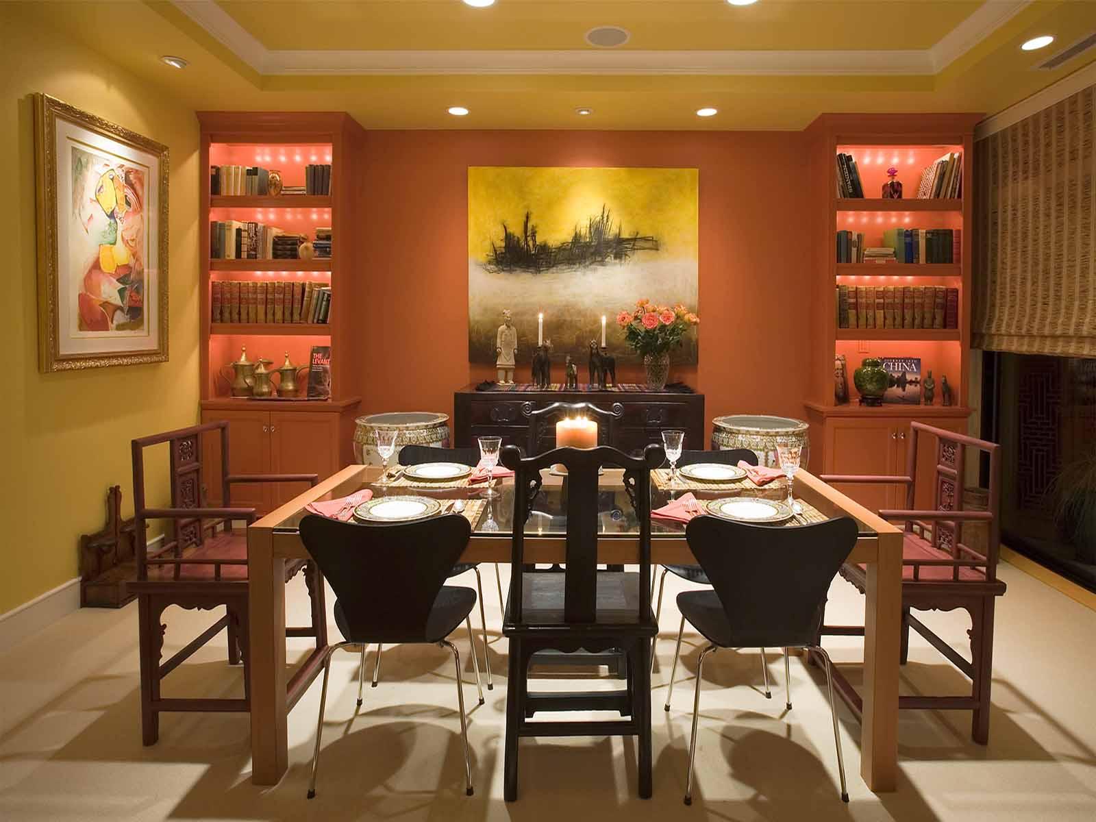 helga simmons design original slide showing dining room