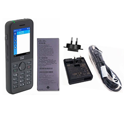 Cisco 8821 Wireless IP Phone, Battery Power Supply with North American plug for charging