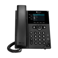 Four-line, basic IP desk phone with color display
